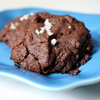 Salted Chocolate Cookies.