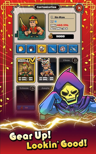 #2. He-Man™ Tappers of Grayskull™ (Android)