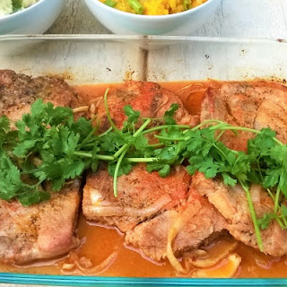 Paprika Lime Pork Chops