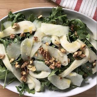 Pear Arugula Salad.