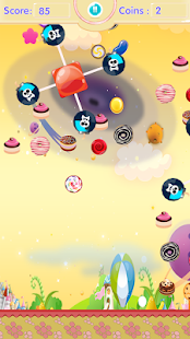 candy tap up Screenshot