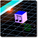 Voxeltone 3D Music matrix icon