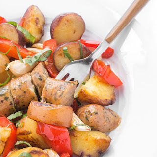 Sausage Potatoes Chicken And Peppers Recipes