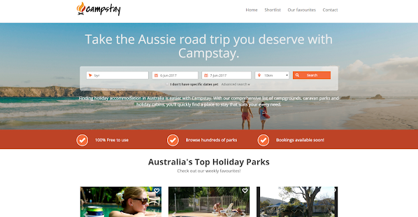 Campstay- screenshot thumbnail