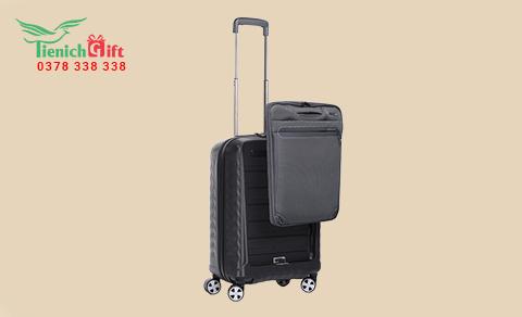 Ngăn chứa laptop có thể tháo rời để qua cổng an ninh mà không cần mở hết vali