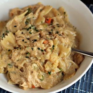 One-Pot Chicken Noodle Casserole.