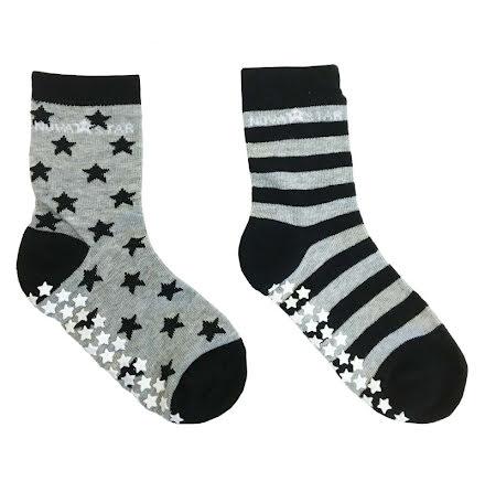 Nova Star Anti-Slip Grey Socks