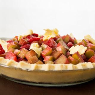 GF Strawberry-Rhubarb Pie