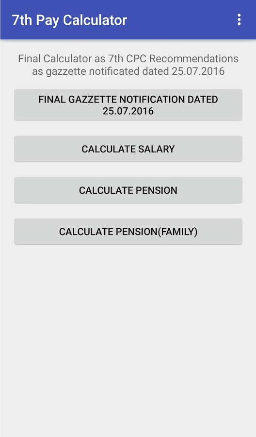 Tn 7th Pay Simple Calculator Android Apps On Google Play - Www imagez co