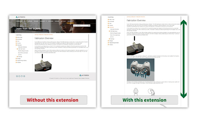 Autodesk fusion360 learnings expander