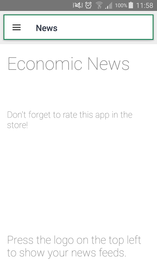 Economic News- screenshot