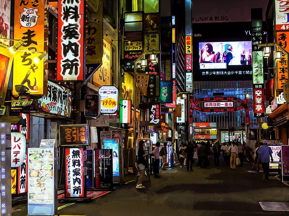 Kabukicho, Tokyo, Japan