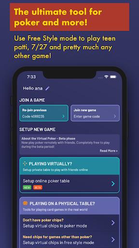 Chips of Fury - Virtual Poker Chips, Poker Table 2.0.6 screenshots 3