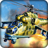 Military Gunship Battle Strike