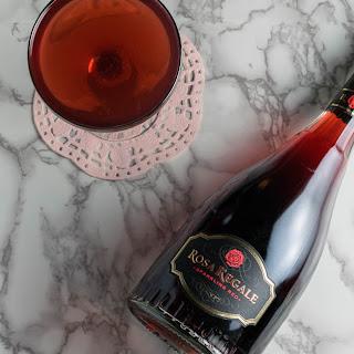 The Honeymooner Cocktail Featuring Rosa Regale.