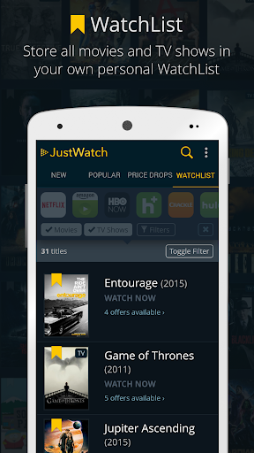JustWatch - Search Engine for Streaming and Cinema 0.22.3 screenshots 6