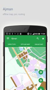 Ajman Map offline Apps on Google Play