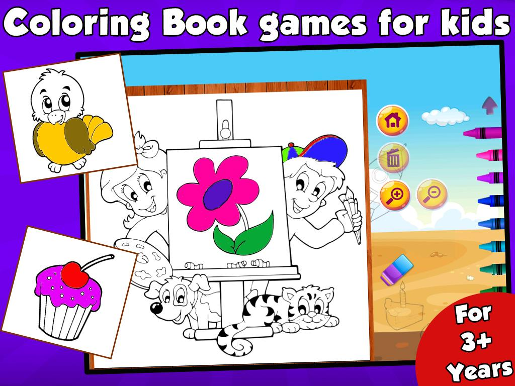 Free Coloring Book For Kids  Android Apps on Google Play
