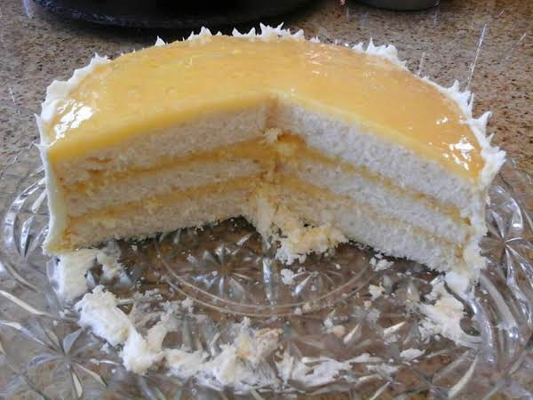 Lemon Curd Filling (for A Three Layer Cake) Recipe