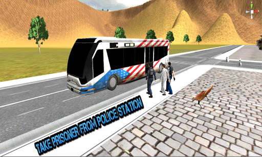 Offroad Prisoner Transport Bus