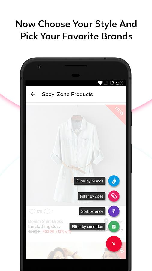 Spoyl: Buy & Sell Fashion- screenshot