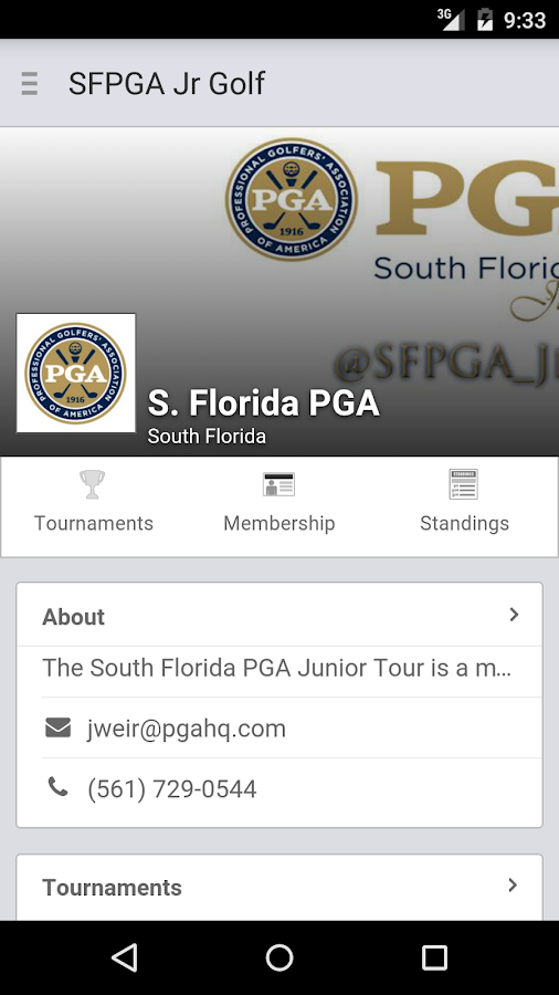 South Florida PGA Junior Tour- screenshot