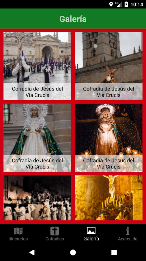 Semana Santa Zamora- screenshot
