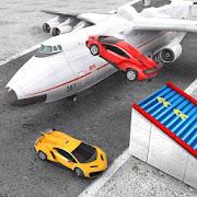 Sports Car Stunts Plane Transporter