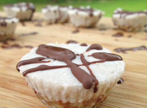No Bake Coconut Banana Cream Bites Recipe