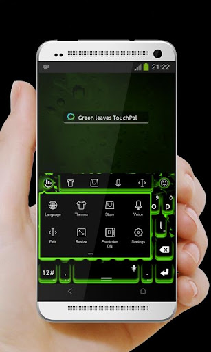 绿叶 TouchPal 皮肤Pífū|玩個人化App免費|玩APPs