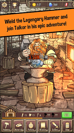Medieval Clicker Blacksmith - Best Idle Tap Games 1.6.4 screenshots 1
