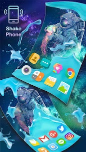 Gravity Water Astronaut Themes HD Wallpapers icons 1.0 MOD + APK + DATA Download 2