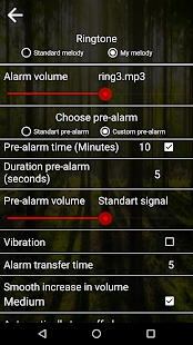 Good alarm clock without ads Deluxe - náhled
