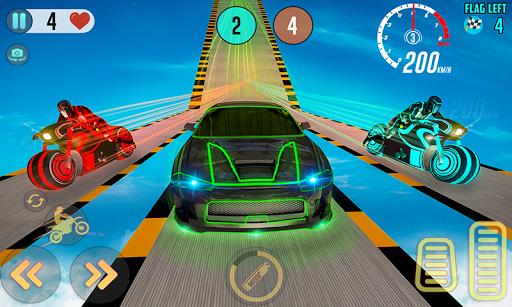 Mega Ramp Light Bike Stunts: New Bike Racing Games apktreat screenshots 2