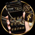 Business Luxury Black Golden Theme icon