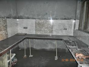 Photo: FF Kitchen, partly tiled - D-41, P-3 GNOIDA, Built by Nanak Builders, Mr. Virender Batra