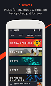 Gaana: Bollywood Music & Radio screenshot 2