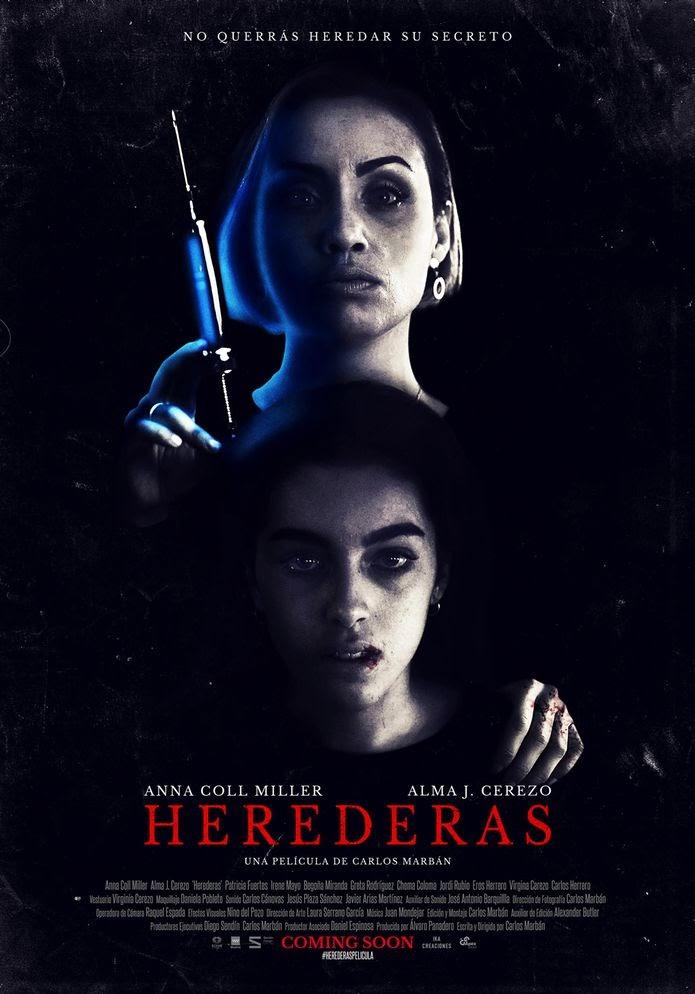 Tráiler y cartel oficial Herederas