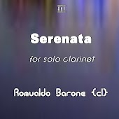 Serenata for solo clarinet