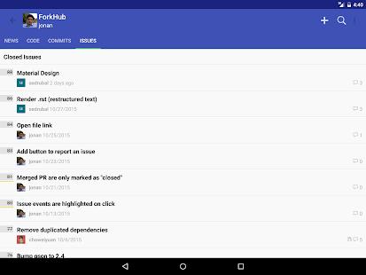 ForkHub for GitHub Screenshot 9