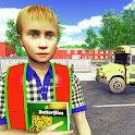 Virtual High School Games: New School Simulator 3D icon