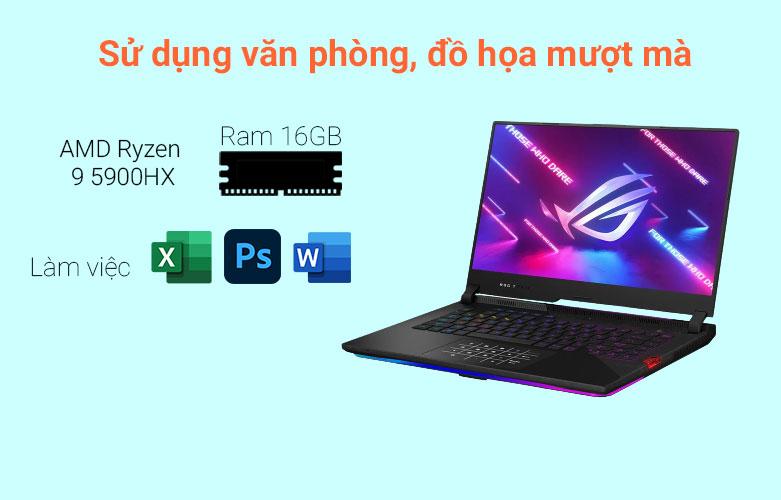 Laptop Asus ROG Strix Scar 15 G533QM-HF089T | HIệu năng mạnh mẽ