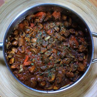 Ingudai Tibs (Mushroom Tibs) Recipe