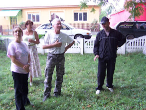 Photo: Salánki házigazdánk Béla