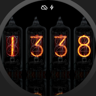 Nixie Watch for Android Wear screenshots 2