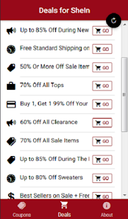 Coupons For SheIn - Shop Women's Fashion - náhled