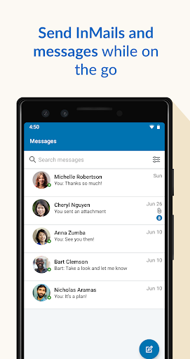 LinkedIn Sales Navigator 6.8.7 screenshots 3