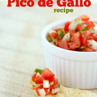 Pico de Gallo Fresh Salsa