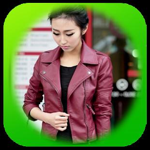 Korejská kožená bunda - náhled