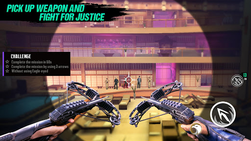 Ninjau2019s Creed: 3D Sniper Shooting Assassin Game apkpoly screenshots 2